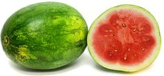 The Ruby Bliss™ watermelon is a large seedless watermelon. When ripe, its skin will be green with subtle dark green striping running the length of its exterior. Its rind is thick, firm and clouded white in color. The flesh will be quite aromatic, crisp, succulent and sweet. Its color, a deep translucent ruby red.