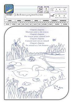 30 phonèmes en 30 comptines Grande Section, Language, Bullet Journal, Teaching, Blog, Cycle 1, Ms Gs, Plans, Mario