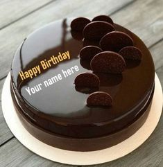 Are you looking for chocolate birthday cake with name? So, here is the best chance to write your name on chocolate birthday cake with name. Happy Birthday Chocolate Cake With Name. Chocolate Birthday Cake Images With Name. Happy Birthday Cake Writing, Birthday Cake For Brother, Happy Birthday Chocolate Cake, Friends Birthday Cake, Happy Birthday Wishes Cake, Happy Birthday Cake Images, Birthday Chocolates, Chocolate Anniversary Cake, Birthday Wishes With Name