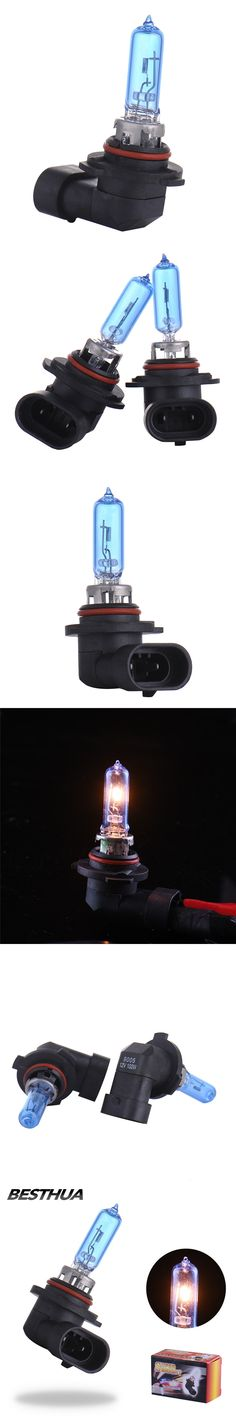 2Pcs 9005 Car Headlight 12V 100W 5000k HB3 Hight Power Fog Halogen Bulb Super Bright White Auto Car Head Bulb Lamp Light Source