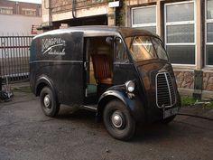 Morris J Van Magpie Electricals Step Van, Ice Cream Van, Day Van, Panel Truck, Cool Vans, London Bus, Jeep 4x4, Thing 1, Custom Vans