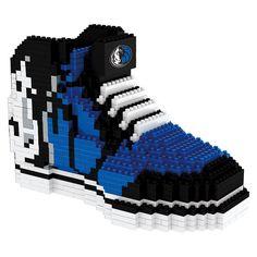 Forever Collectibles Dallas Mavericks Brxlz 3D Sneaker Puzzle Set, Multicolor