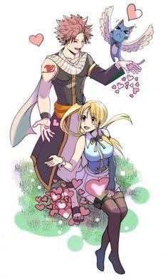 Memes Imágenes Fairy Tail - NaLu - Page 2 - Wattpad Fairy Tail Love, Fairy Tail Nalu, Lucy Fairy, Image Fairy Tail, Fairy Tail Natsu And Lucy, Fairy Tale Anime, Fairy Tail Ships, Fairy Tales, Fairytail