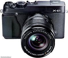 Fuji X-E1 in Black!