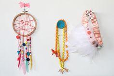 Idées bricolage enfant - comment fabriquer un attrape rêve original et inspirant