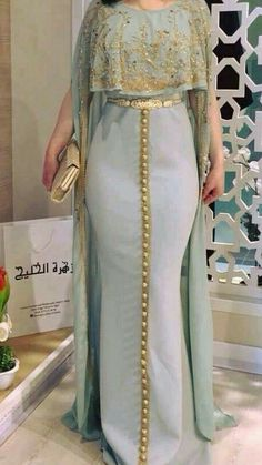 Abaya Style 687221224370766469 - caftan Source by African Fashion Dresses, African Dress, Indian Dresses, Indian Outfits, Indian Fashion, Fashion Outfits, Stylish Dresses, Elegant Dresses, Beautiful Dresses