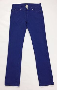 Zara jeans uomo w32 tg 46 slim usato dritti leggeri panta denim boyfriend T2397