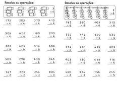 Resultado de imagem para atividade multiplicação 3 ano