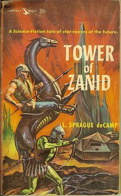 L. Sprague deCamp - The Tower of Zanid