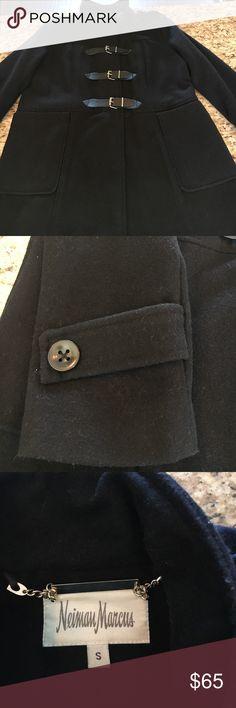 Neiman Marcus Wool Blend Coat Beautiful wool blend Neiman Marcus coat! Like new condition! Neiman Marcus Jackets & Coats Pea Coats