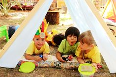 Camp themed birthday party #birthdayparty #campingtheme