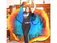 Sahariah's Silk Belly Dance Veils Original Killer Moths 2