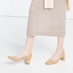 Image 3 of MEDIUM HEEL SHOES from Zara