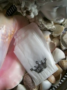 Royal Tea Party favor bags