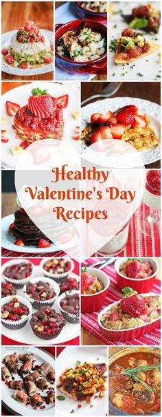 Healthy Valentines Day Recipes - 101 Food Travel - Healthy Valentines Day Recipes Healthy Valentines Day Recipes - treat your sweetheart to these delicious romantic dishes, from breakfast through dinner - Valentines Day Food, Valentine Day Recipes Healthy, Valentines Breakfast, Healthy Dinner Recipes, Holiday Recipes, Valentines Dinner Recipes, Romantic Dinners, Romantic Food, Romantic Recipes