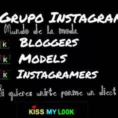 #nuevosgrupos #grupoinstagram #bloggers #models #instagramers #instafriends #influencer #instagallery #instainfluencer #kissmylook #siguemeytesigo #unete #ponmeprivado