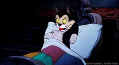 """My favourite animated cat: Figaro from """"Pinocchio."""""""