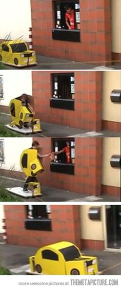 Transformer Drive-through