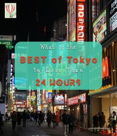You only have 24 hours to spend in Tokyo and you want to make out of it. What to do? Where to go? What to choose? After spending almost two weeks in Japan's mega metropolis, I created a comprehensive list of all the best things to see in less than 24 hours in Tokyo. P.S. When in doubt, always stop and drink some matcha.