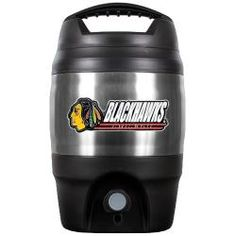 Chicago Blackhawks 1 Gallon Tailgate Keg #nhl #hockey