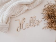 <p>Dřevěný nápis Hello pro vlastní tvoření</p><p>Vhodný k aranžování v interiéru či jako foto doplněk</p><ul><li><strong>šířka textu: 15 cm</strong></li></ul> Napkin Rings, Home Decor, Decoration Home, Room Decor, Home Interior Design, Napkin Holders, Home Decoration, Interior Design