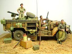 British Long Range Desert Group By Modeler Paul Marshall 1:35 Scale