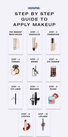 Step by step instructions for applying makeup – Discover the steps to make makeup in the perfect order. Buy the right – # for Step by step instructions for applying makeup – Discover the steps to make makeup in the perfect order. Buy the right Contour Makeup, Skin Makeup, Makeup Brushes, Drugstore Makeup, Makeup Order, How To Do Makeup, Order To Apply Makeup, Steps For Applying Makeup, Make Up Tutorials