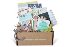 How about a year's subscription to Studio Calico for the Scrapbooking and DIY blogger? Pizza-box-project life