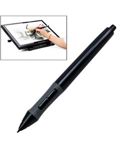 Huion PEN-68 Professional Wireless Graphic Drawing Replacement Tablet Pen(Black) #0