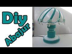 DIY: ABAJUR RECICLADO - YouTube