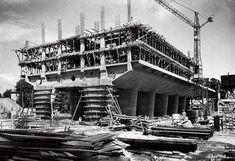 Unidad de Habitación_Construcción Le Corbusier, Construction Safety, Pierre Jeanneret, Building Structure, Chandigarh, Historical Photos, Villa, Louvre, Travel