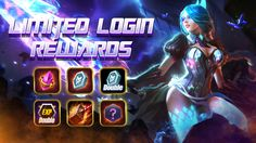 Login Daily During the special event to claim Tons of Bonus Rewards! Moba Legends, Mobile Game, Special Events