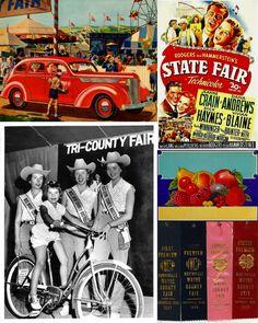 #Americana vintage State Fair all American family entertainment retro fun