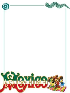 """EPCOT - Mexico - Three Caballeros - Project Life Journal Card - Scrapbooking. ~~~~~~~~~ Size: 3x4"""" @ 300 dpi. This card is **Personal use only - NOT for sale/resale** Logos/clipart belong to Disney. Snake motif from www.clker.com ***Click through to photobucket for more versions of this card with and without characters :) ***"""