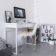 Ikea 'Bestå/Burs' desk @willowstyleco