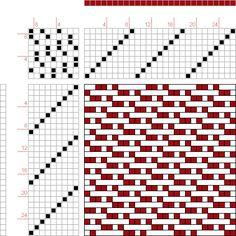 draft image: 08160, 2500 Armature - Intreccio Per Tessuti Di Lana, Cotone, Rayon, Seta - Eugenio Poma, 9S, 9T