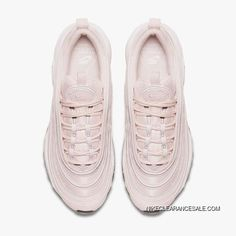 """75d54062e1 Nike Air Max 97 Womens """"Barely Rose"""" Running Shoes 921733-600 Pink White"""
