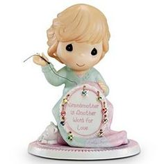 Precious Moments Grandmother Is Another Word For Love Figurine