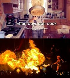 ☆ When boys can cook ;)