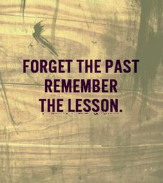 Lesson becomes more important!