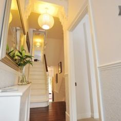 Elegant and simple Victorian terrace entranceway