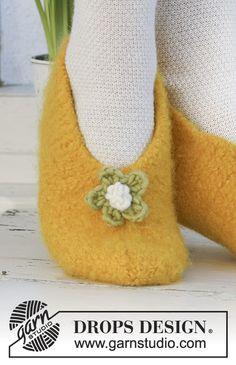 Daffodil Dancers / DROPS Extra 0-546 - Gratis strikkeopskrifter fra DROPS Design