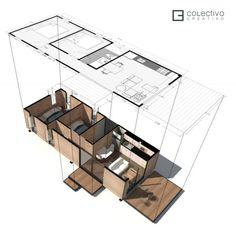 Isometric - Courtesy of Colectivo Creativo Arquitectos