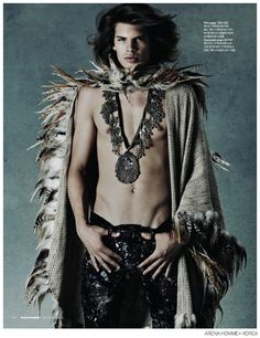 Cameron Keesling is a Modern Day Jim Morrison for Arena Homme+ Korea image Cameron Keesling Arena Homme Plus Korea 002
