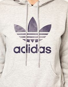 sports shoes af5bd 8a34d Enlarge Adidas Trefoil Hoodie Athletic Outfits, Athletic Wear, Athletic  Clothes, Adidas Trefoil Hoodie