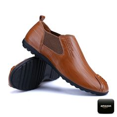 Amazon Men's Casual Ankle Boots Chelsea Style