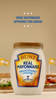 Heinz® Heinz Mayonnaise has been crafted to be deliciously thick and creamy. We use only the highest-quality ingredients, like cage-free eggs, lemon juice, and carefully selected oil & vinegar to craft an unforgettably creamy mayonnaise. Easy Dinner Recipes, New Recipes, Vegan Recipes, Snack Recipes, Favorite Recipes, Recipies, Foods Dogs Can Eat, Some Recipe, Recipe Box
