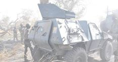 Nigerian Troops Recover Battle Tank Lost To Boko Haram [Photos]