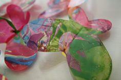 매니큐어로 나비만들기 Messy Art