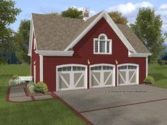 [ Houseplans Picks Garage Plans Car Carriage House Plan One Story Apartment ] - Best Free Home Design Idea & Inspiration 3 Car Garage Plans, Garage Apartment Plans, Garage Apartments, Barn Apartment, Detached Garage Plans, Apartment Ideas, Above Garage Apartment, Apartment Design, Bedroom Apartment